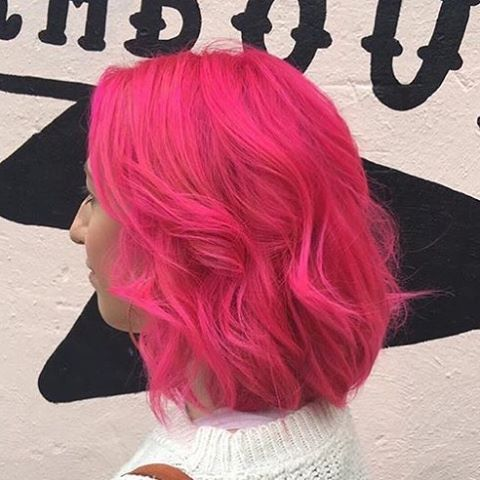 Hot Pink Hair By Voodoukeely Using Crazy Color Voodou Co Uk