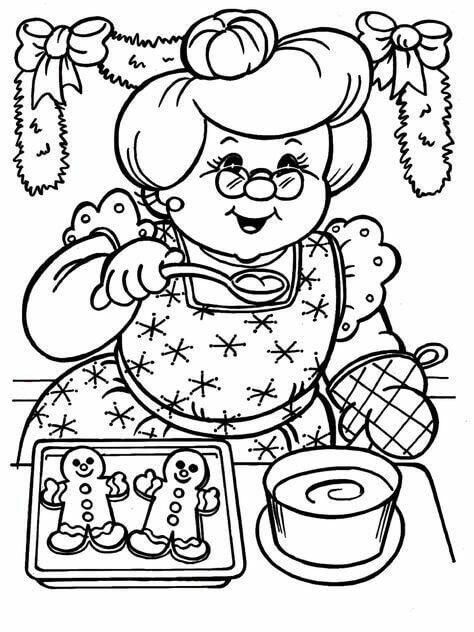 lebkuchenmann weihnachten malvorlagen  coloring pages