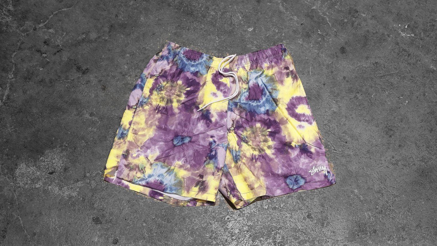 e7a45f76c61c4 Tie Dye Water Short - Multi | rad things | Stussy tie dye, Tie Dye ...