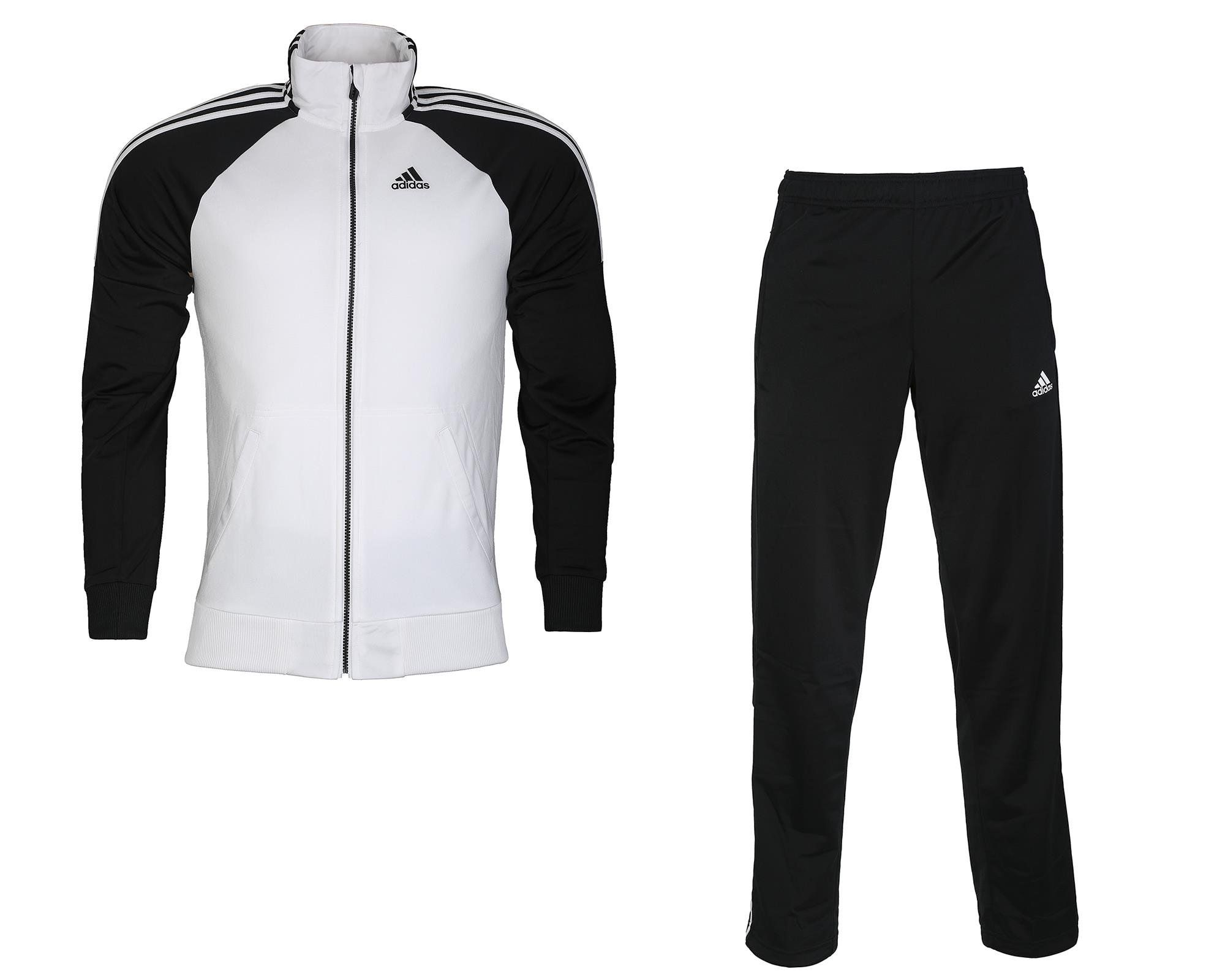 076af32e6602a Adidas Mens Men'S Zip-Up Tracksuit at Amazon Men's Clothing store ...