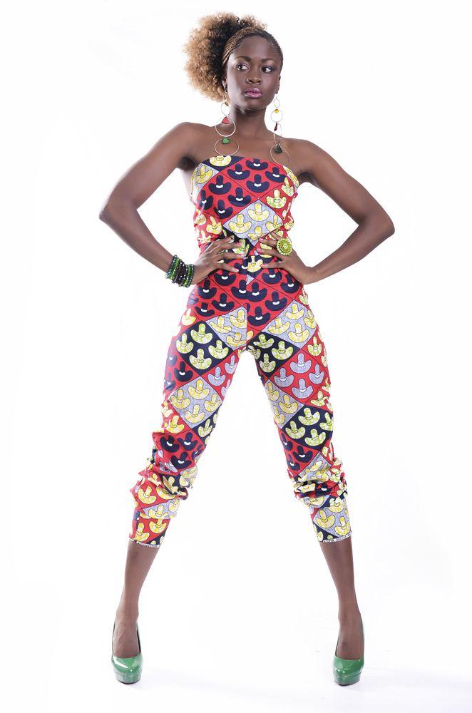 Kitenge Jumpsuit | African Fashion | Pinterest | Kitenge ...