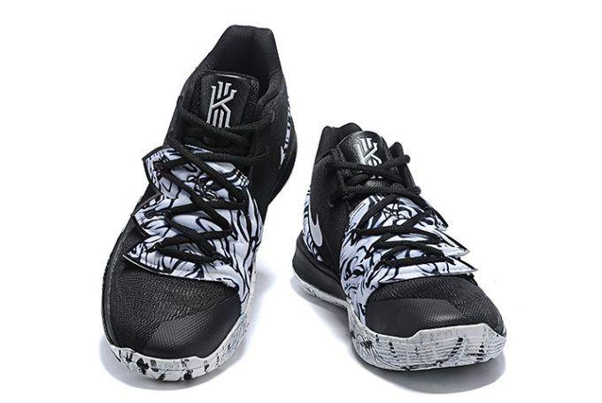 pretty nice 3fb71 1acf5 Buy Nike Kyrie 5 BHM Black White Shoes-4