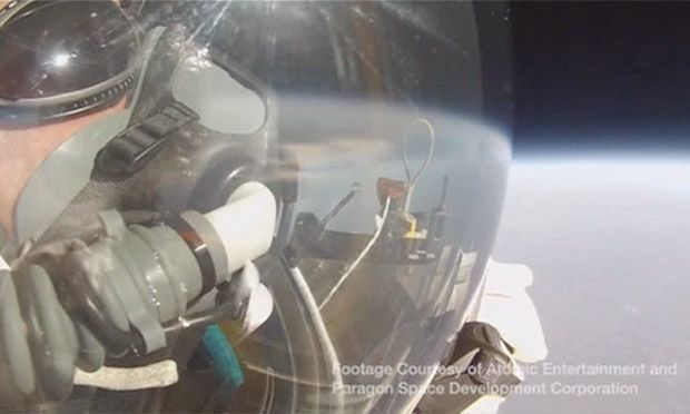 Google Executive Alan Eustace Jumps 130 000ft From Edge Of Space