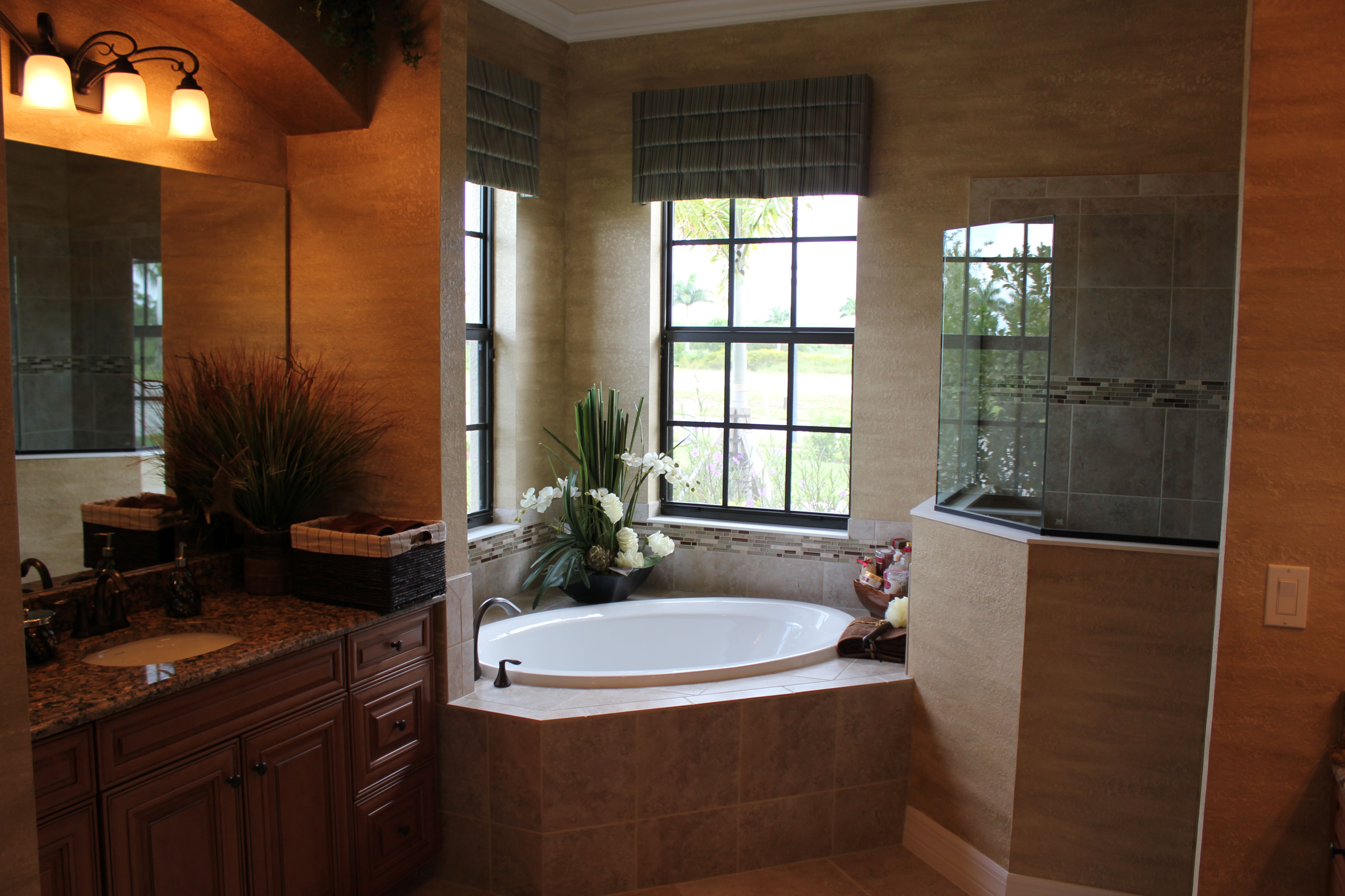 Lennar homes heritage bay naples fl master bathrooom for Bath remodel naples fl