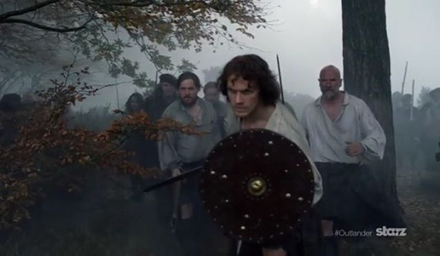 Screen shot from today's new #Outlander featurette. #seasontwo #samheughan #JamieFraser #jammf