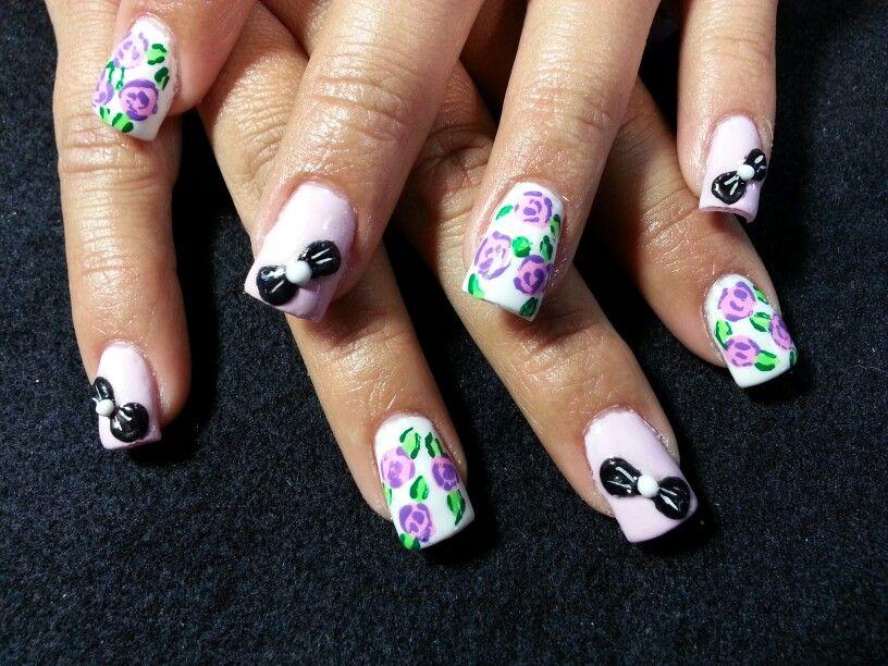 Amazing 3d Nail Bows Festooning - Nail Art Design Ideas ...
