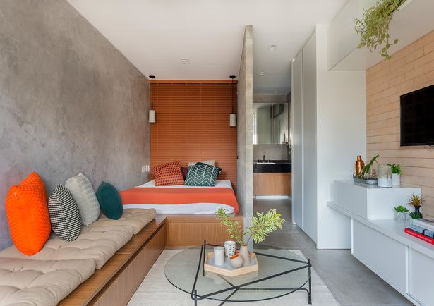 27 metros cuadrados de puro dise o micro espacios for Diseno de apartamentos de 45 metros cuadrados