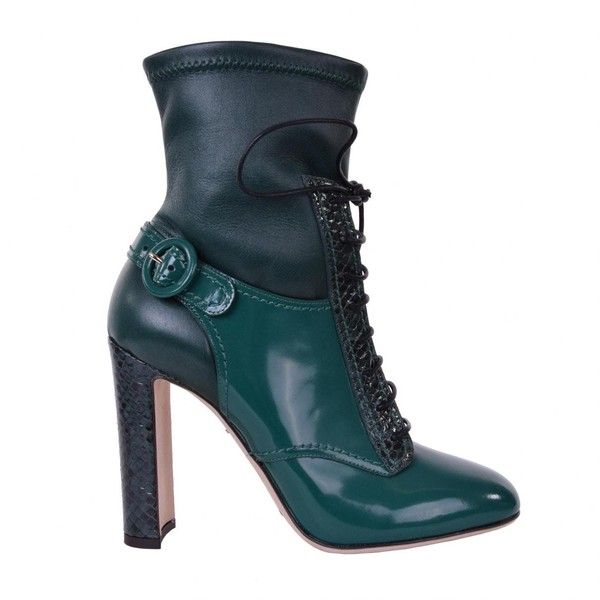 Pre-owned - Leather lace up boots Dolce & Gabbana Cheap Sale New Styles FDEAsPvi3