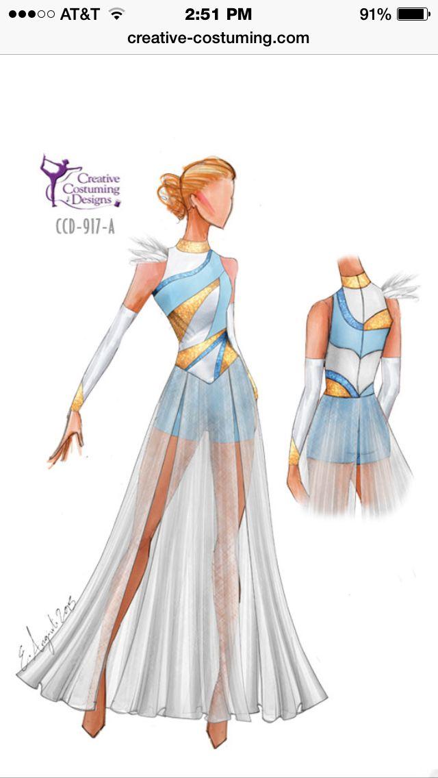 Creative Costuming Color Guard Costumes Creative