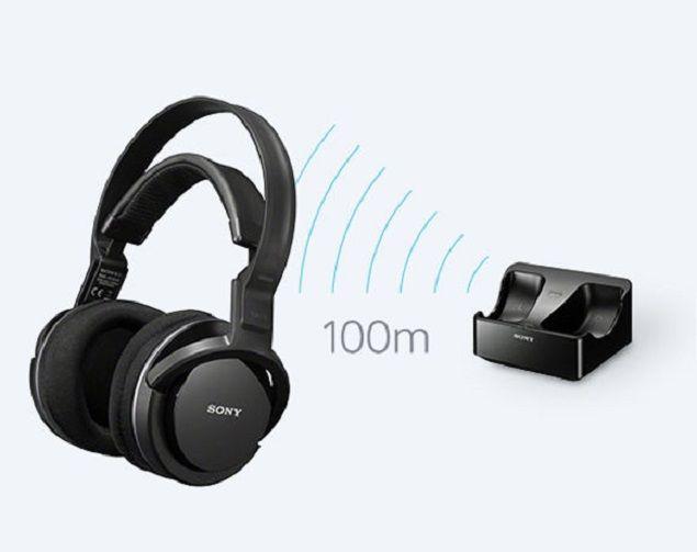 Sony Mdr Rf855rk Wireless Headphones Review Manual Specs Wireless Headphones Sony Headphones