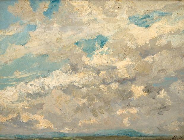 """H Boulenger """"ciels nuageux"""""""
