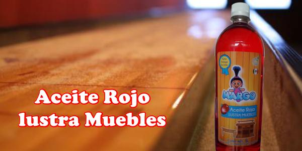 Aceite rojo lustra muebles margo es eficaz para limpiar for Aceite para muebles de madera