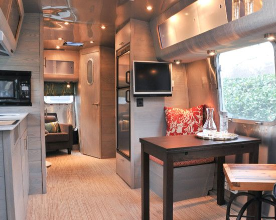 Awesome airstream renovations ideas for travel trailers Travel trailer decorating ideas