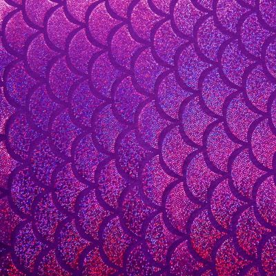 Mermaid Scales But In Blue Instead And Add Glitter Coat