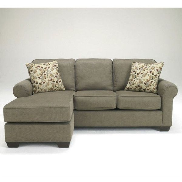 Ashley Furniture Danely 2 Piece Fabric Sectional $687 ❤ liked