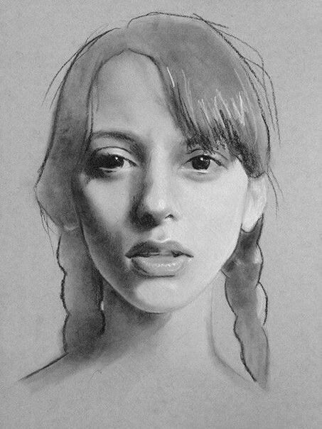 Pin By Wendy Huntley On Artwork Portrait Sketches Portrait