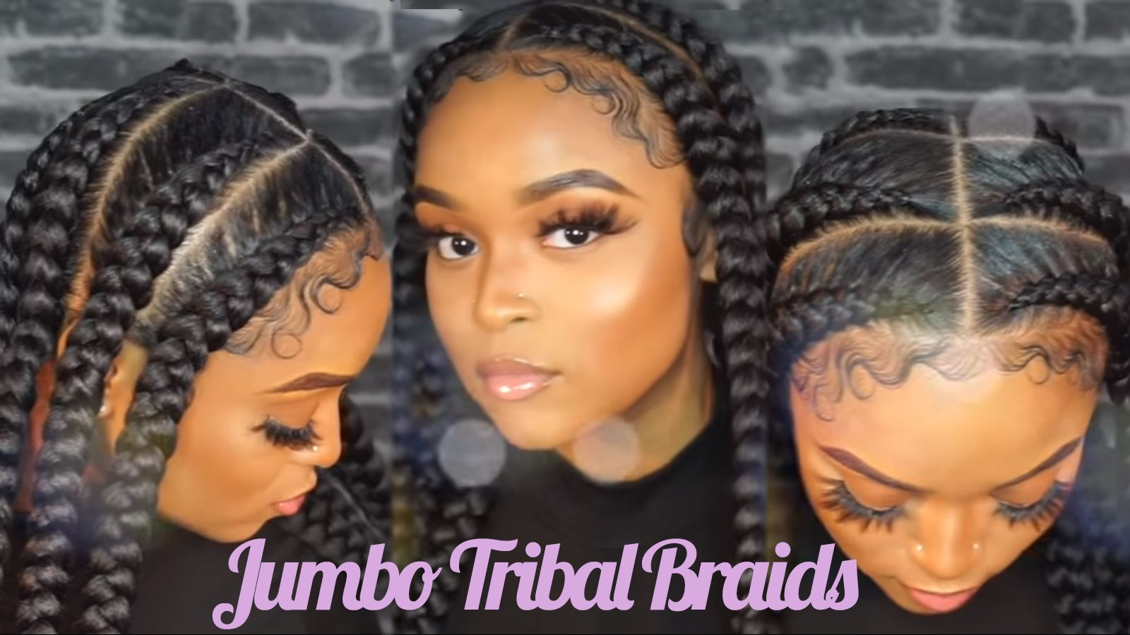 Stylish Badass Jumbo Tribal Braids To Try African American Hairstyle Videos Aahv In 2020 Braided Hairstyles Black Girl Braided Hairstyles Box Braids Hairstyles