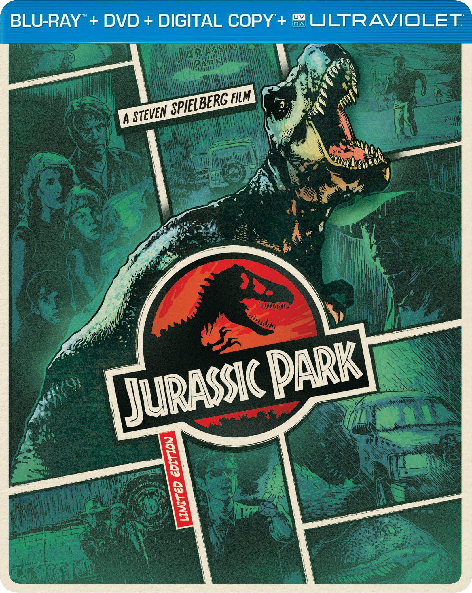 Jurassic Park (Steelbook) (Bluray + DVD