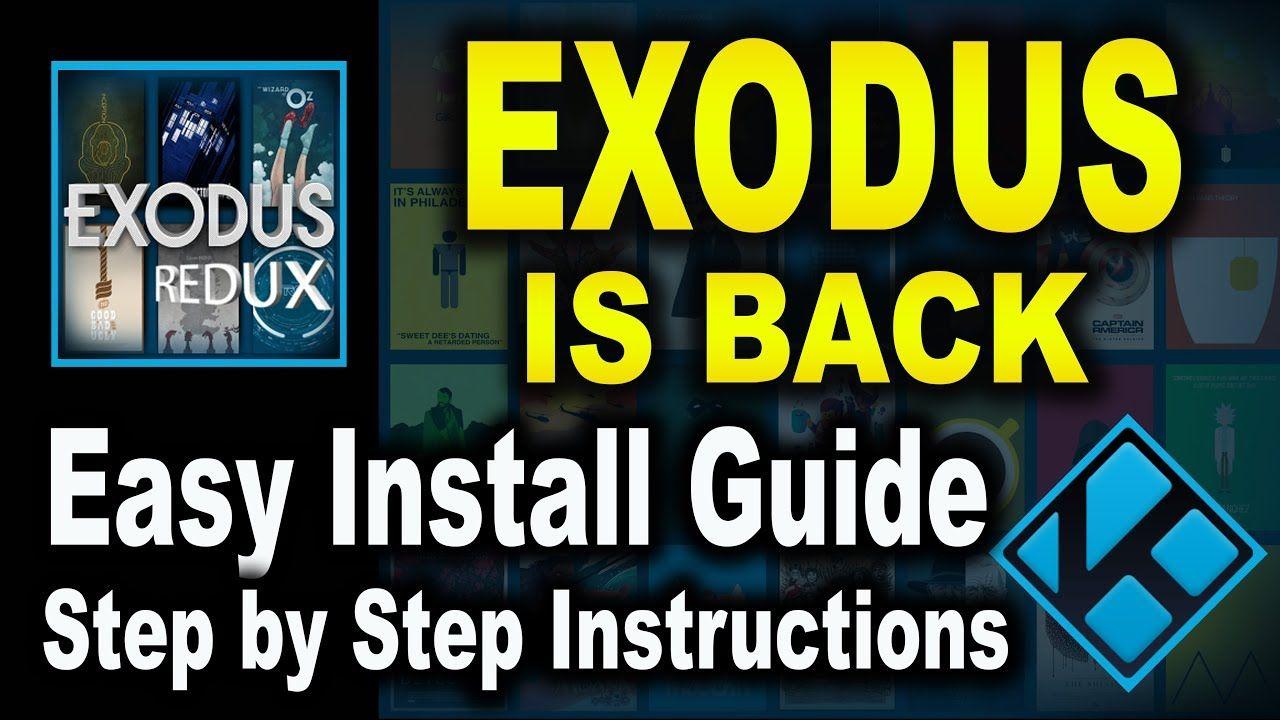 All new exodus for kodi 2018 update get exodus back on