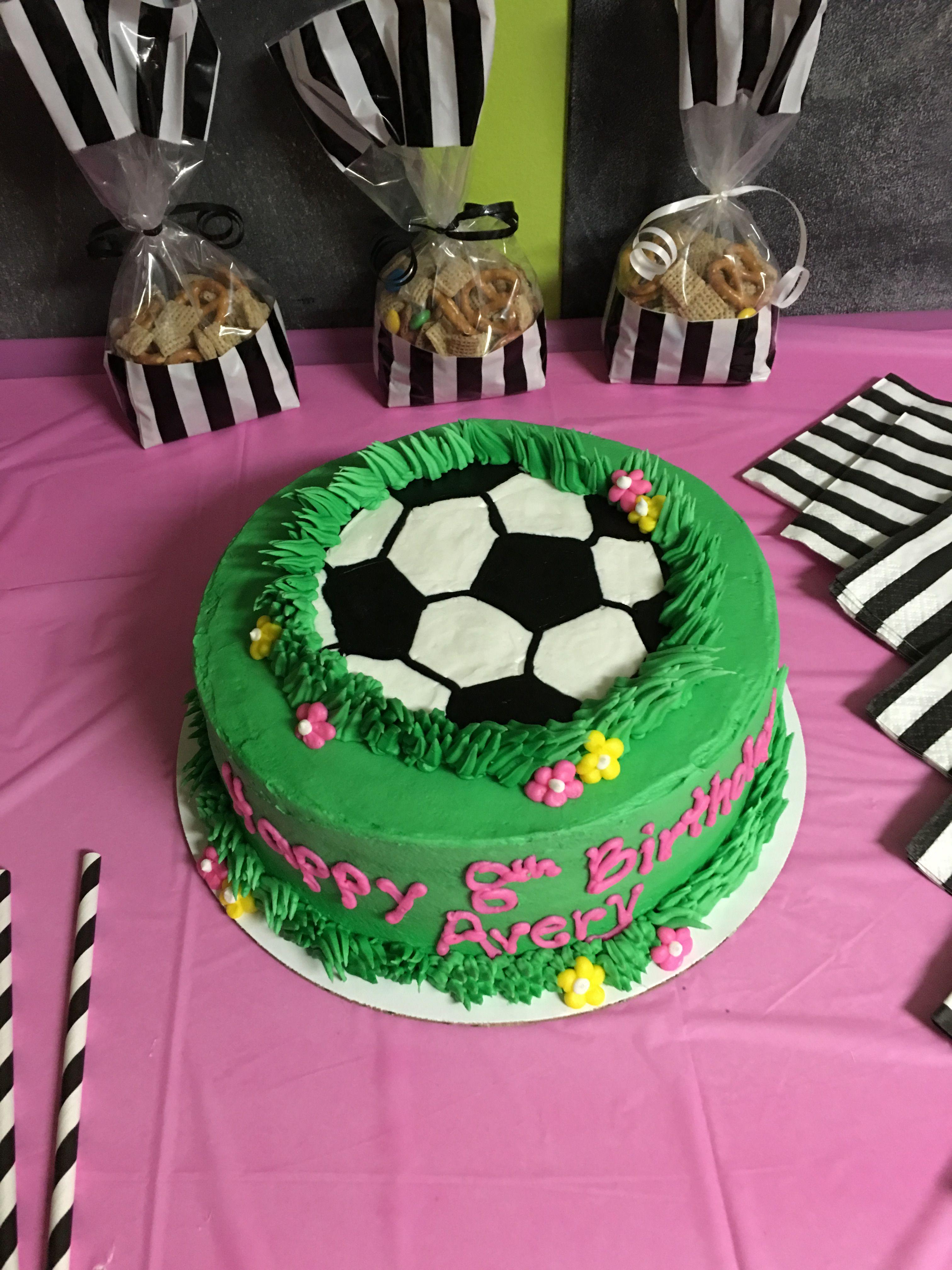 Girl Soccer Birthday Cake Birthdays Pinterest Soccer Birthday