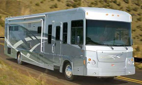 Winnebago road trip across America