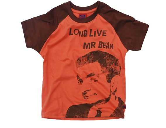 83960552f Clifton Kids Boys T shirt Mr Bean Long Live Clifton Mr. Bean Branded and  printed