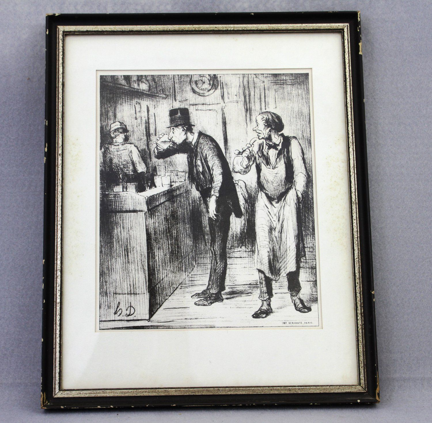 Sold Price: ** Daumier Prints.- - A group of 11 caricature