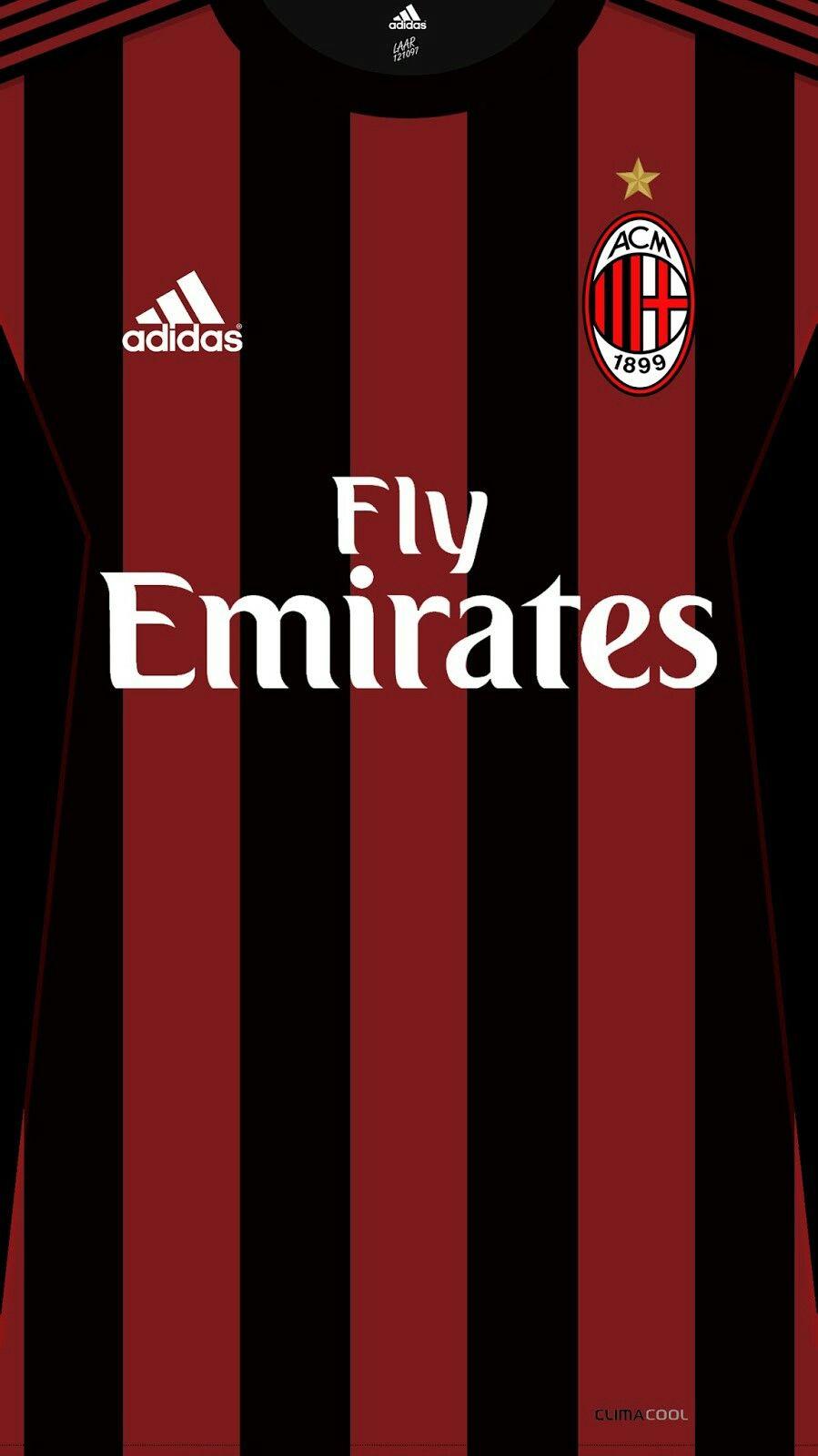 AC Milan 17-18 kit home ( Milanoic it s for you  p )  0aba2f26c6e42