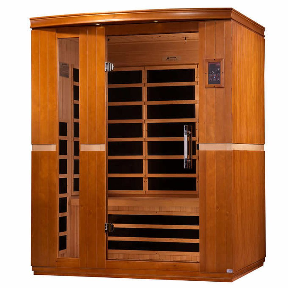 Costco S 3 Person Sauna May Be The Most Wtf Black Friday Deal We Ve Seen So Far Golden Design Energy Efficient Heating Infrared Sauna