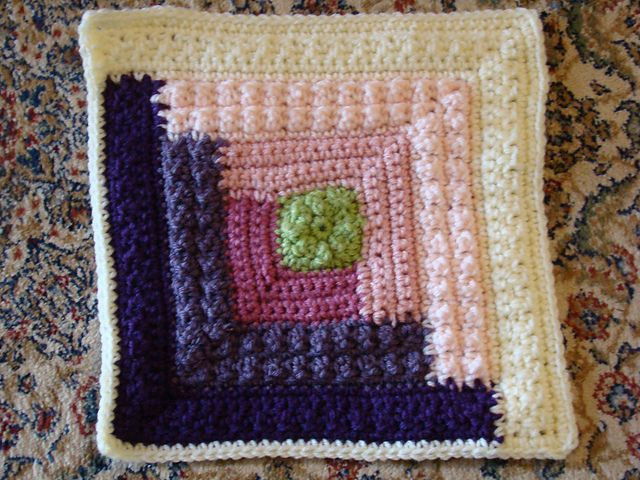 Ravelry: Project Gallery for Autumn Log Cabin Throw pattern by Red ...