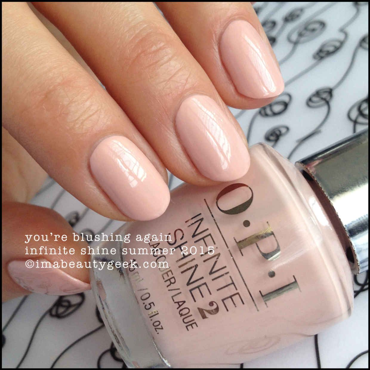 OPI INFINITE SHINE SUMMER 2015 SWATCHES & REVIEW | OPI, Summer 2015 ...