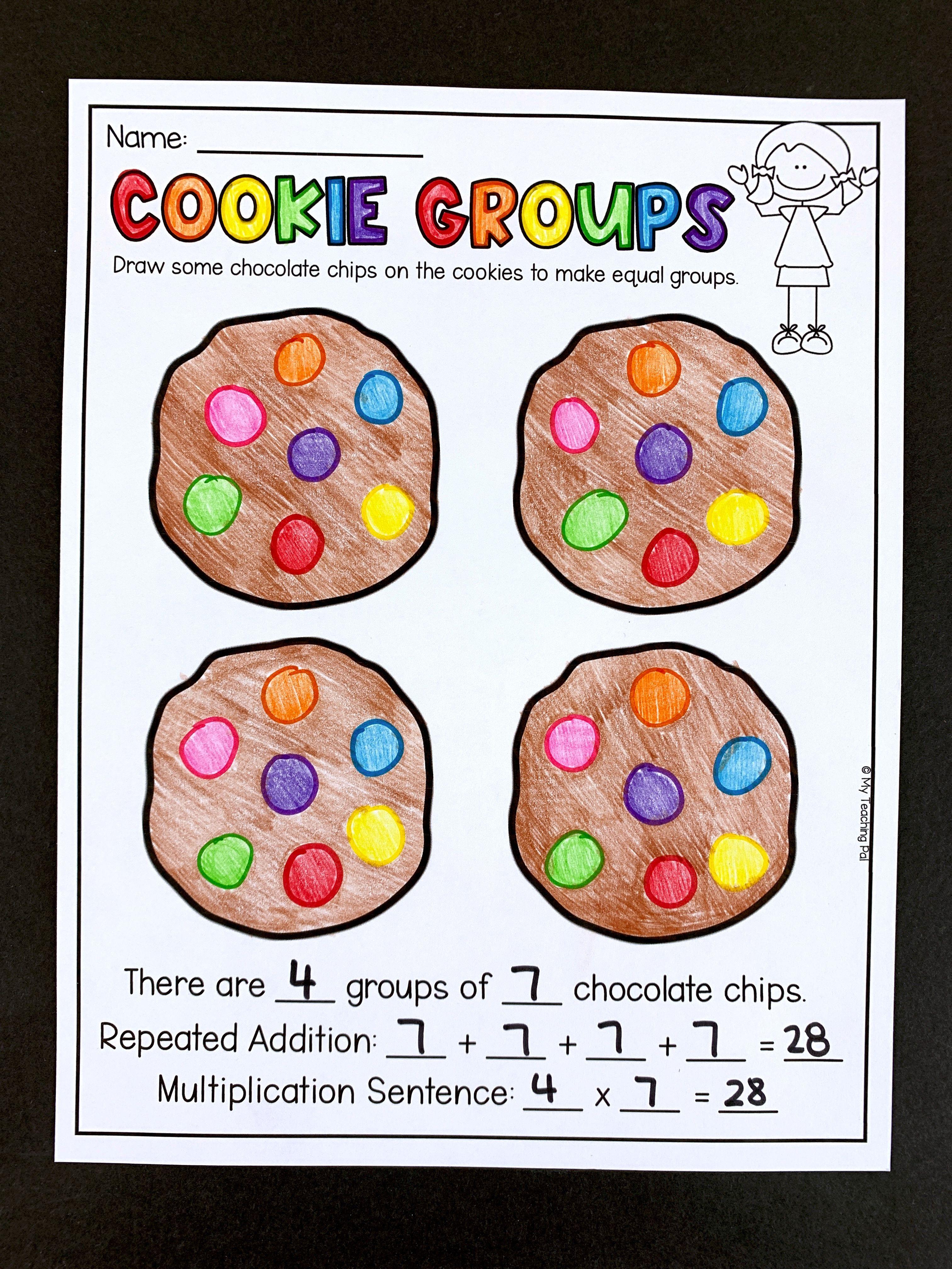 Second Grade Multiplication Worksheets