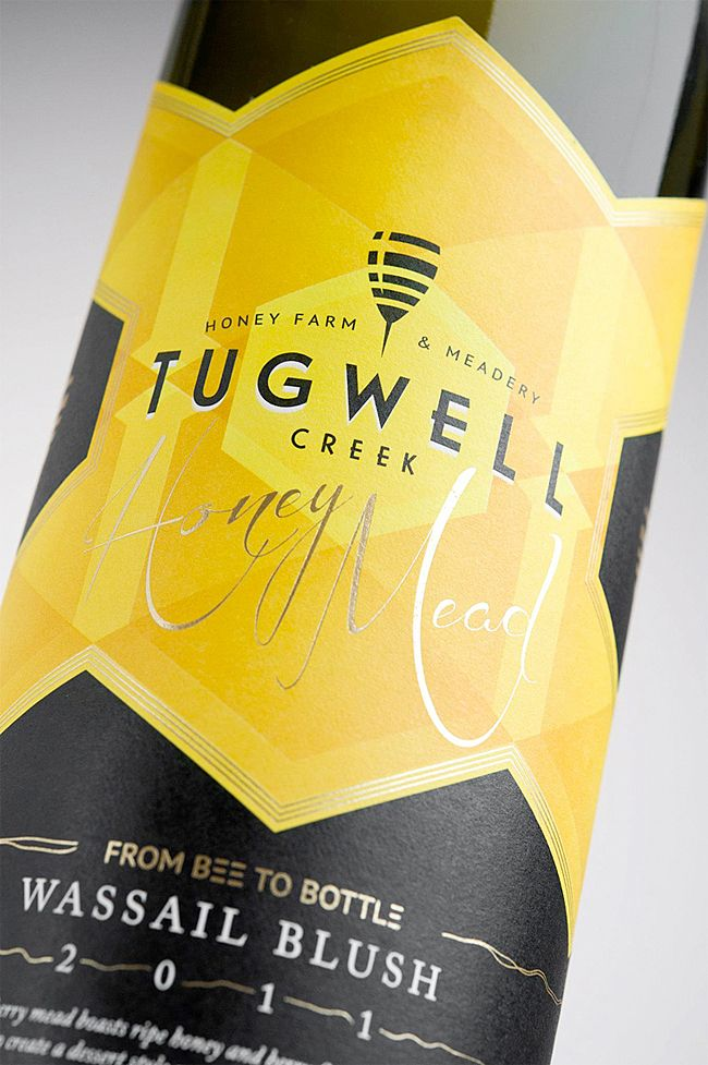 Tugwell Creek Honey Farm & Meadery | Packaging of the World: Creative Package Design Archive and Gallery