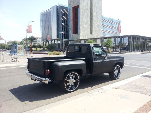 Chevy C10 On 26s Stepside 5000 Any Chevy C10 Chevy Antique Cars