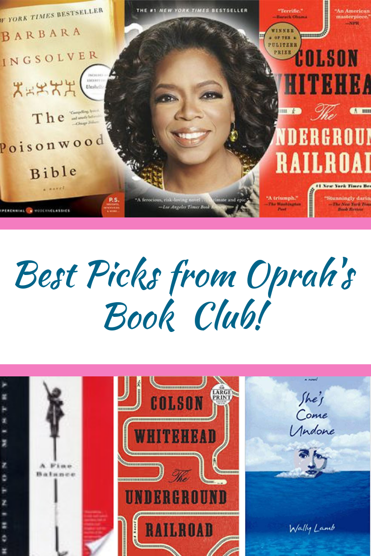 The Best Celebrity Book Club Picks In 2020 Celebrity Books Oprah Book Club List Book Club List