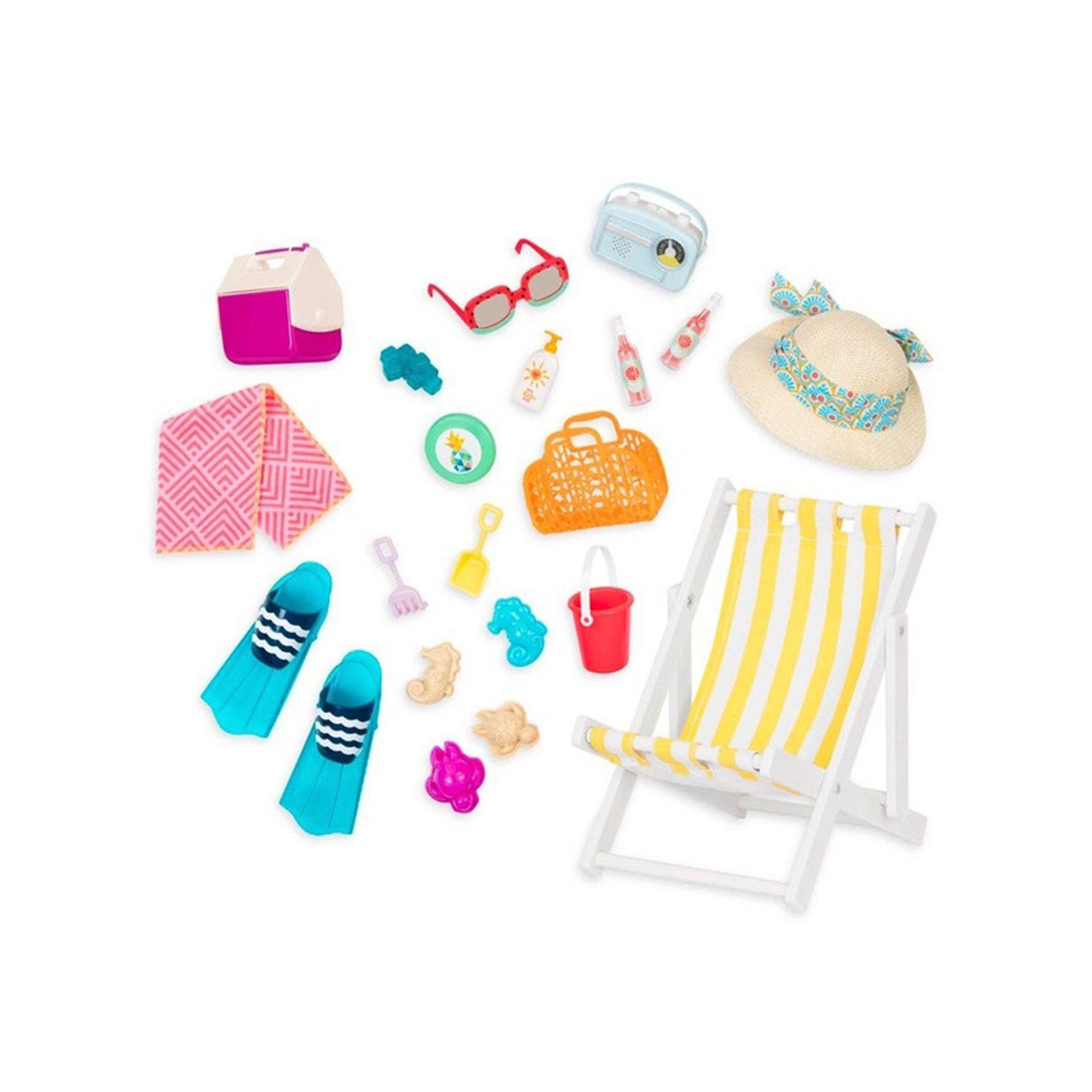 Playa Vacaciones Muñecas Cosas De Barbie Muebles American Girl Sets De Barbie
