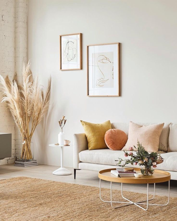 25 Elegant Living Room Wall Colour Ideas Matching with Furniture images