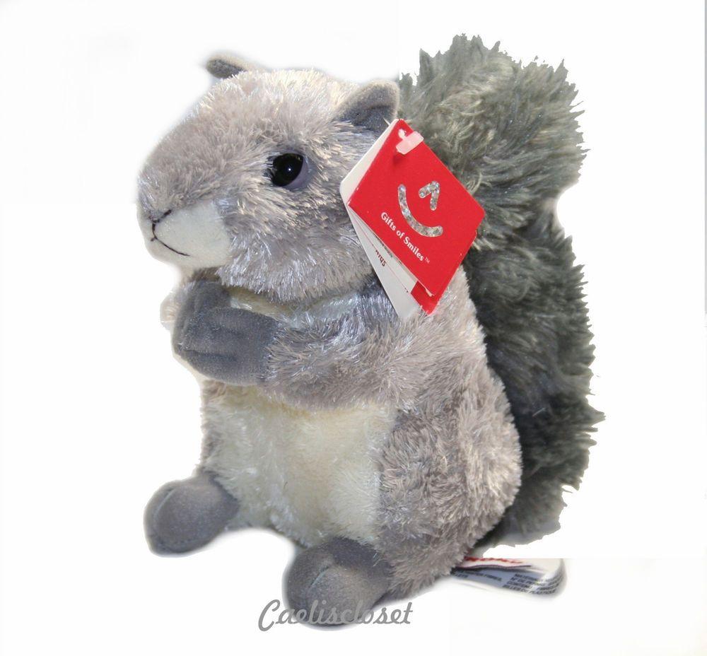 Aurora Nutty Gray Squirrel Plush Stuffed Animal Toy New Pet Toys Animal Plush Toys Plush Stuffed Animals [ 928 x 1000 Pixel ]