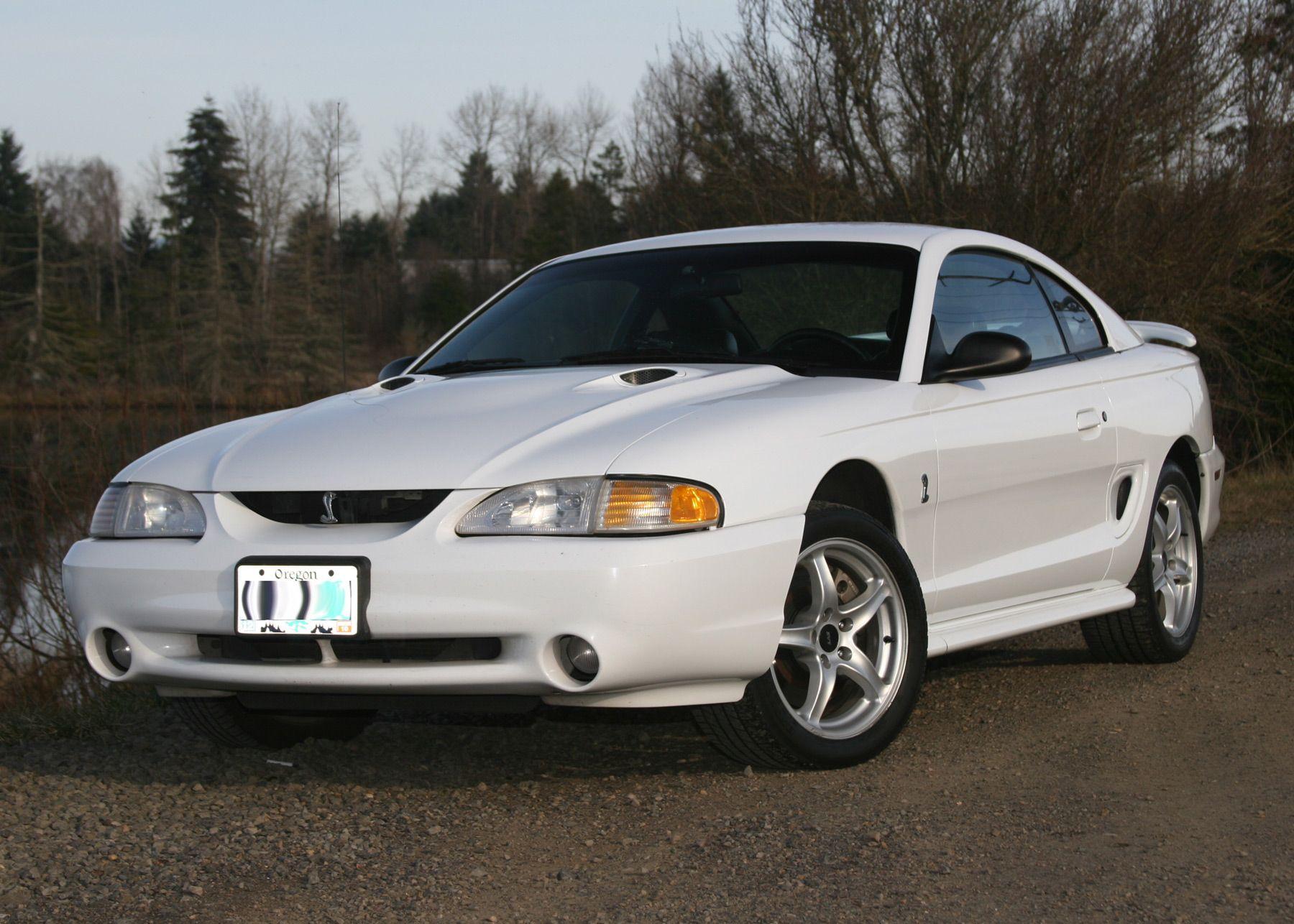 1998 Mustang Cobra White Google Search Mustang Cobra Mustang Car