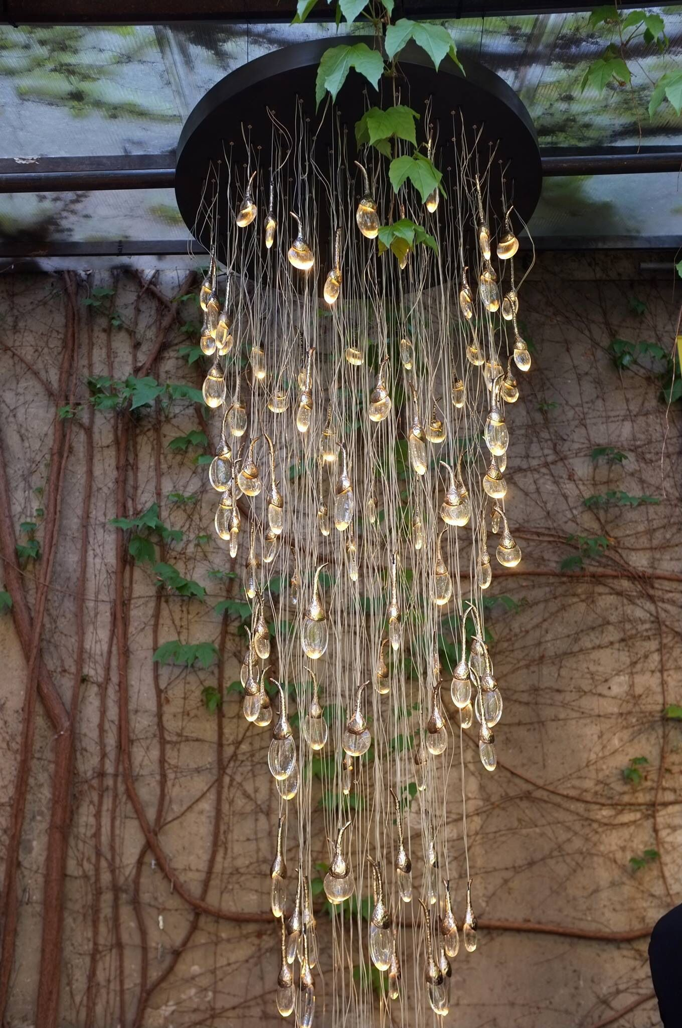 'Seed Cloud' chandelier from British company Ochre