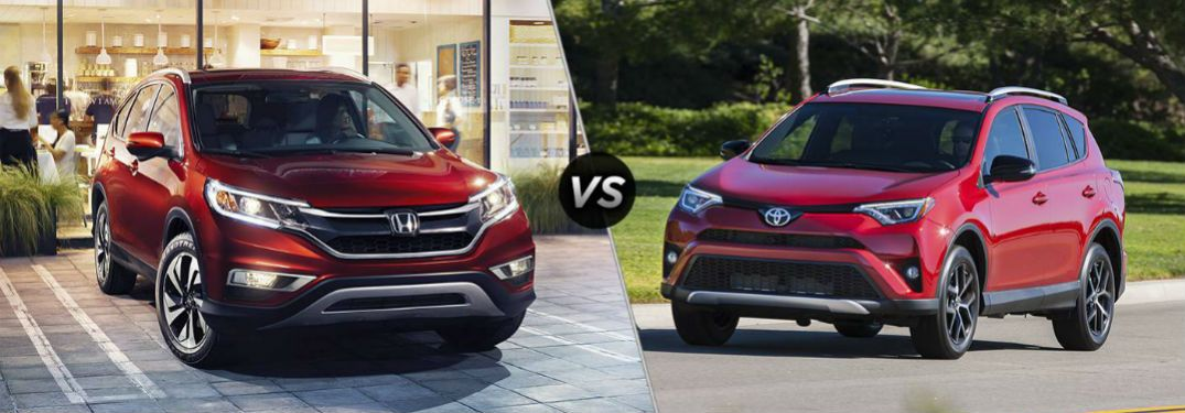 2016 Honda Cr V Vs Toyota Rav4 Which Suv Offers The Best Value For Jackson Area Families Here S How They Stack Up In A Head To Comparison