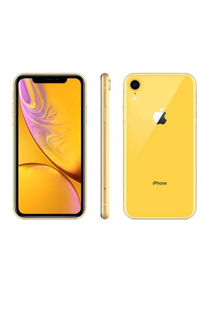 iPhone Xr 128GB Amarelo IOS12 4G + Wifi Câmera 12MP