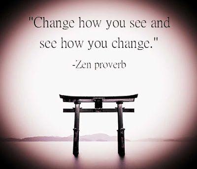 A Zen Proverb