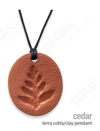 Terra Cotta/Clay Pendant