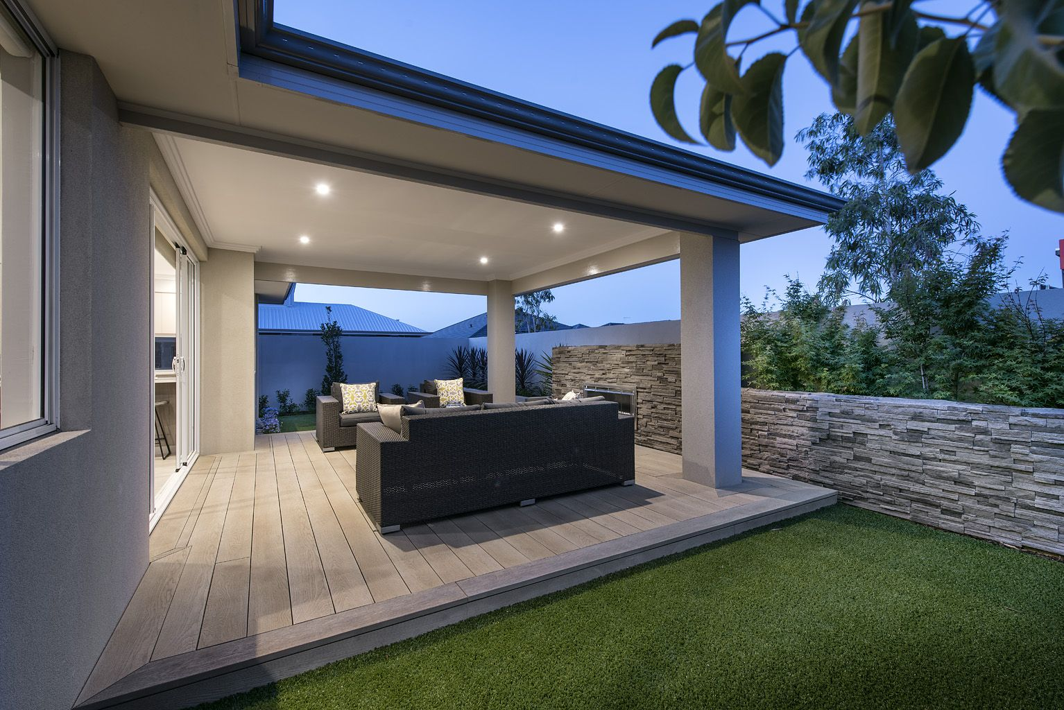 outdoor alfresco areas © Ben Trager Homes On