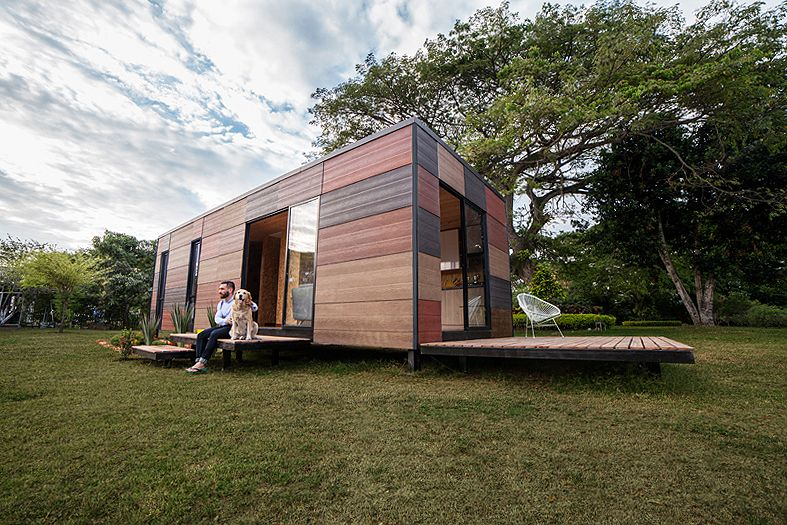 Colombian Architects Build Modular Homes for Isolated Areas & Colombian Architects Build Modular Homes for Isolated Areas ...