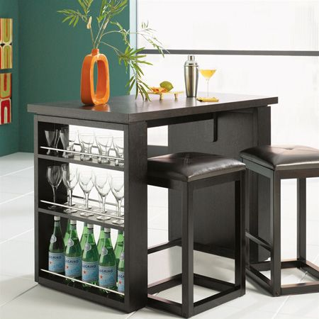 Bar Table with storage | For the Home | Bar furniture ...