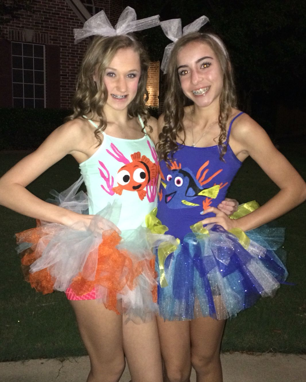 Cute Nemo and Dory costumes | Cute Halloween costumes | Pinterest ...