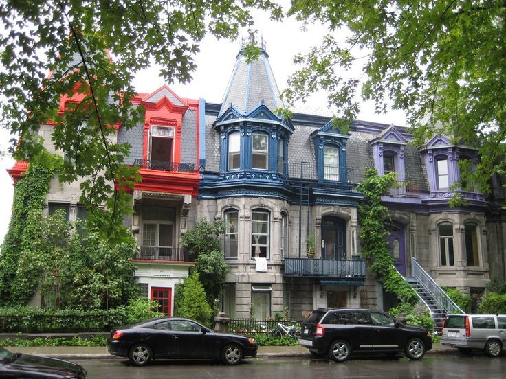 North Country Unfading Black, Montreal mansard roof