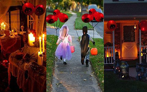 Halloween LED Light Up Party Balloons!, $15